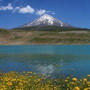 نمایی از کوه البرز