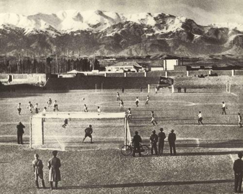 ورزشگاه امجدیه در دهههای سی و چهل خورشیدی