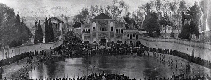 میدان ارگ تهران در دوران قاجار