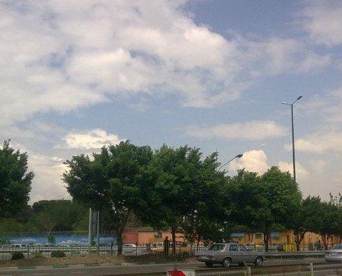 میدان بهمن، بزرگراه تندگویان