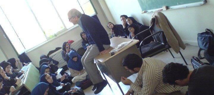 کلاس درس استاد شفیعی کدکنی