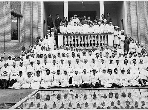 بیمارستان شوروی، تهران قدیم