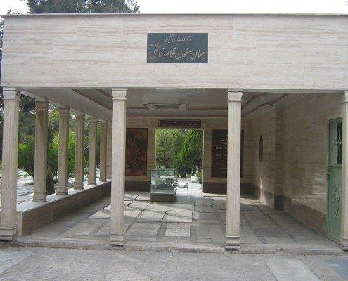 آرامگاه غلامرضا تختی در ابن بابویه