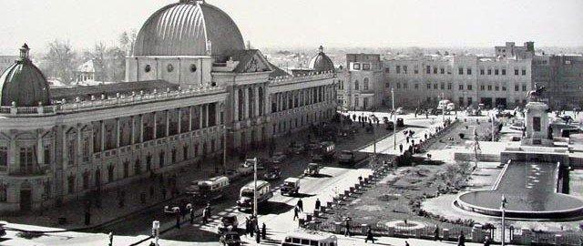 ساختمان تلگرافخانه در دهه سی خورشیدی