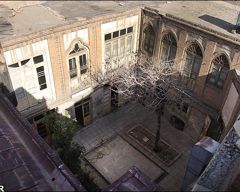 خانه پدری جلال آل احمد
