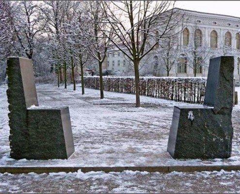 گفت و گوی ابدی، بنای یادبود حافظ و گوته، وایمار/آلمان، عکس از ریتا دادر