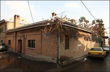 خانه جلال آل احمد و سیمین دانشورکاخ مرمر